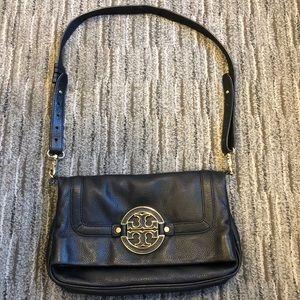 Tory Burch Amanda fold-over crossbody bag purse